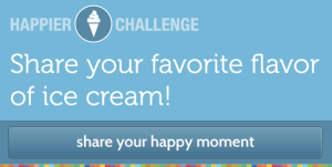 Happier Ice Cream Challenge