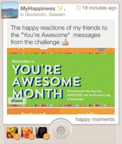 #MonthOfAwesome